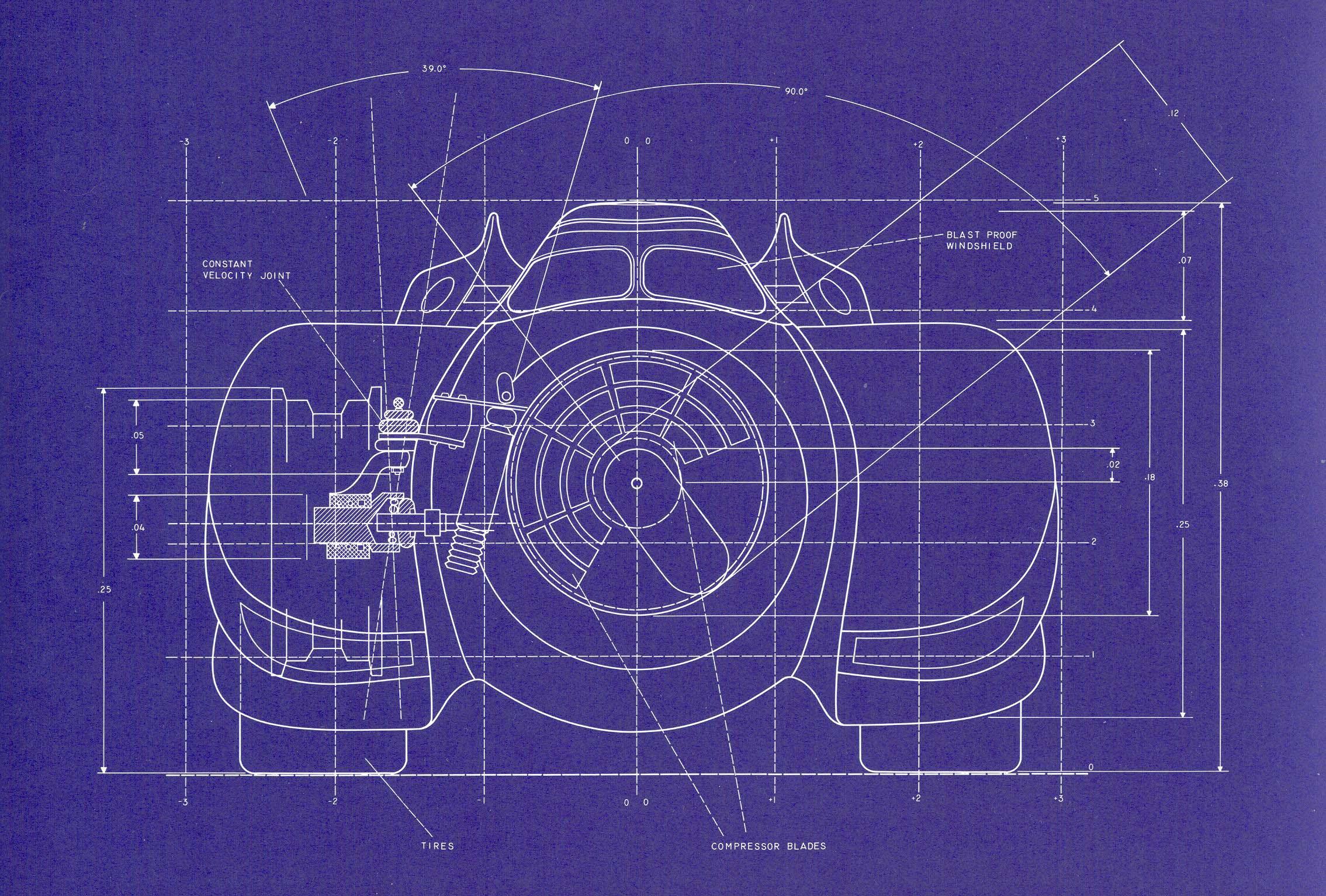 Batman Online Gallery Batmobile Blueprints From Batman