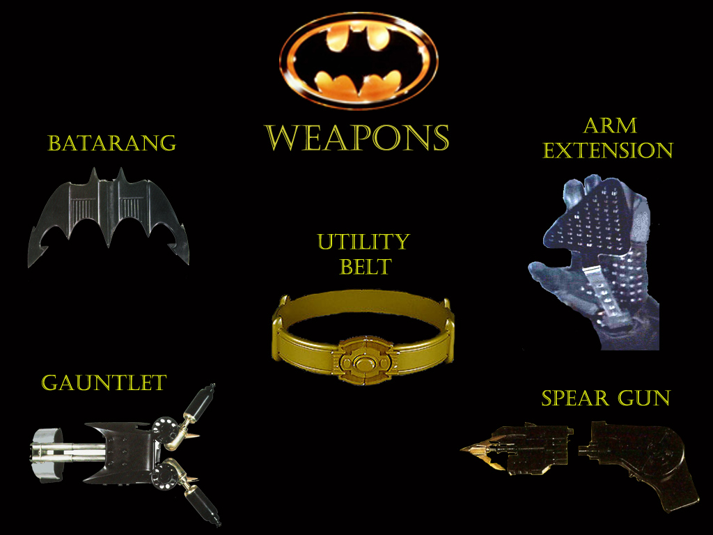how to make batman weapons