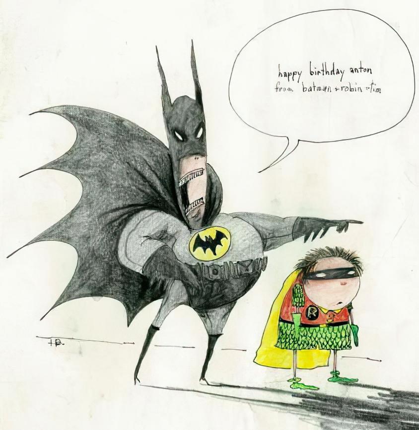 BATMAN ONLINE Gallery Birthday Card from Batman 1989 – Batman Birthday Cards