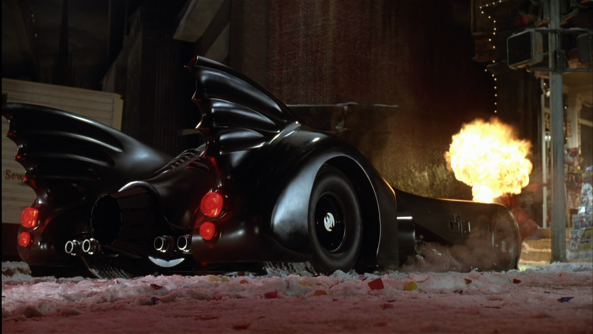 batman online gallery batmobile vs fire breather from 25th Anniversary Frame 25th Anniversary Graphics