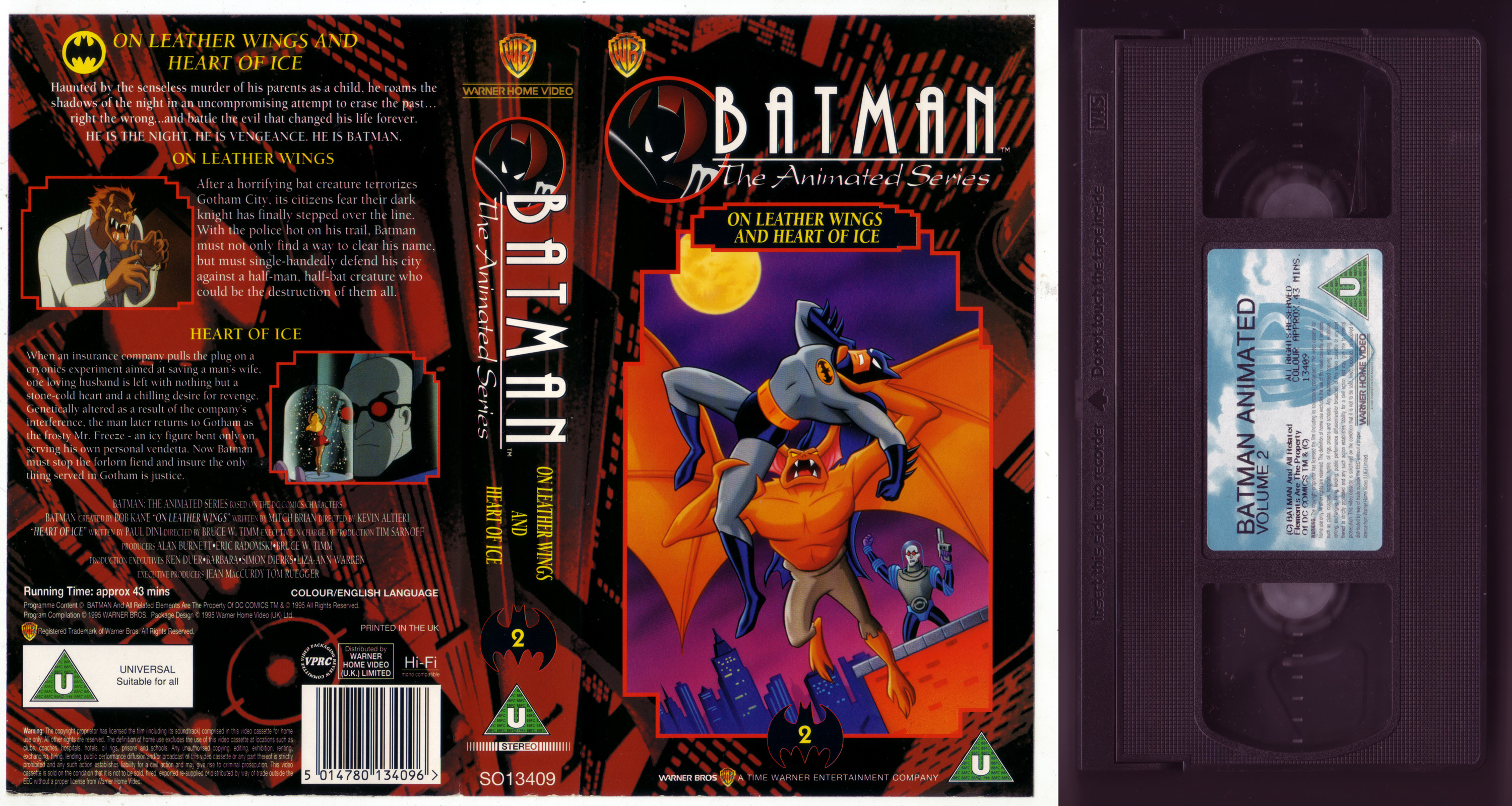batman the animated series soundtrack volume 2